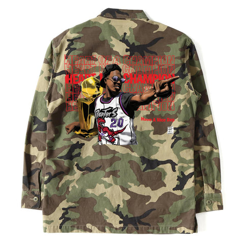 Heart of Champion Authentic Army Jacket