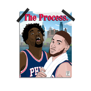 "Philly ""The Process."" Print"