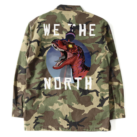 We The North Raptor Authentic Army Jacket