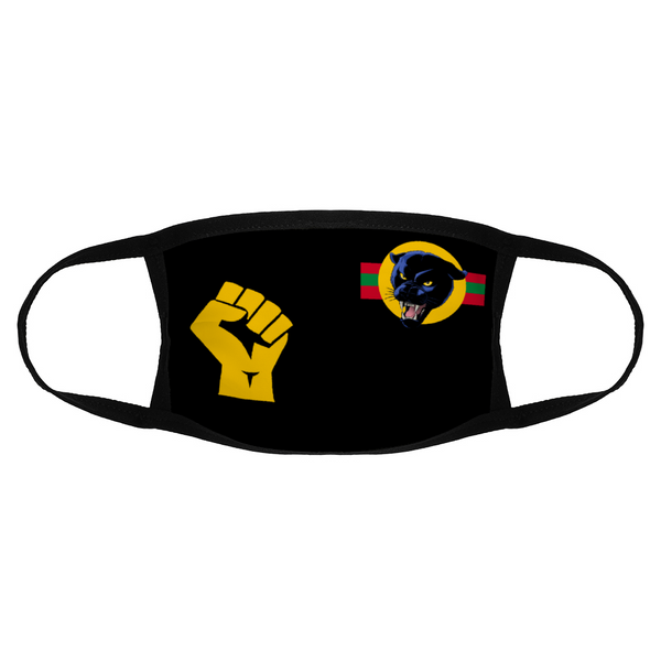 Black Lives Matter Panther Face Mask