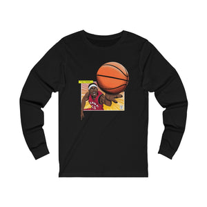 "Spicy P ""Finishes with the Spin"" Jersey Long Sleeve Tee"