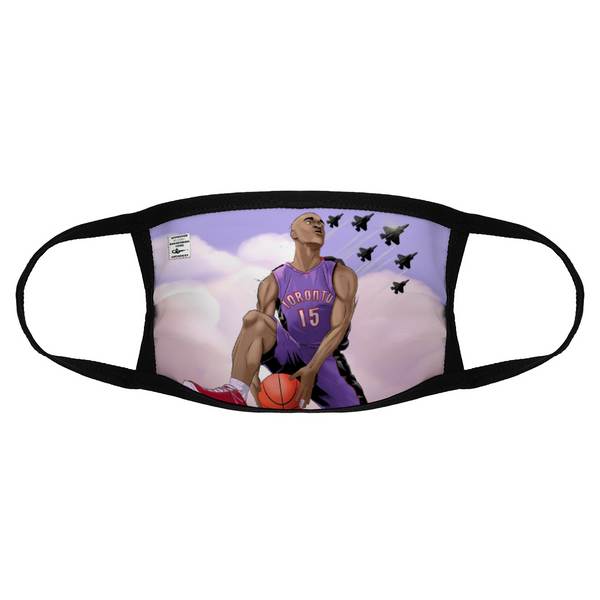 """Come Fly With Me"" Vince Carter Face Mask"