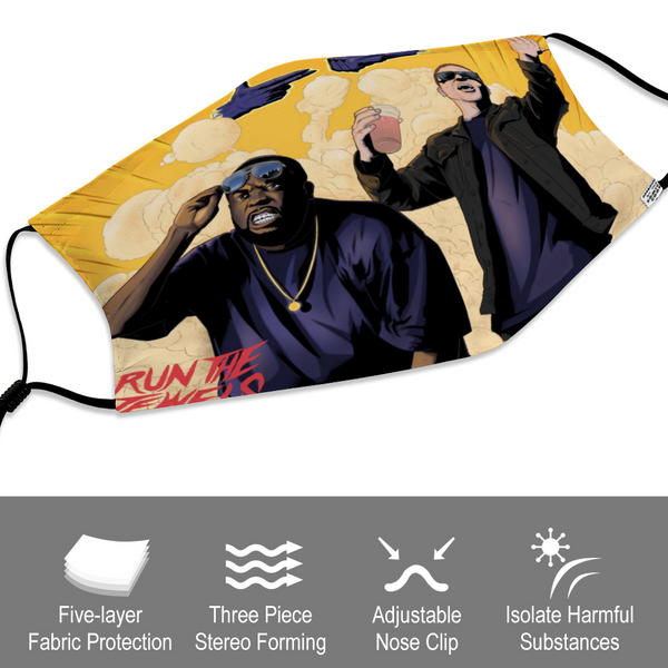 RTJ Comic Panel Face Mask