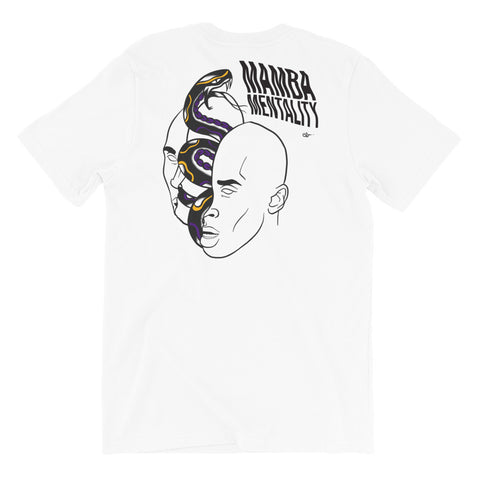 MAMBA MENTALITY - Double-sided Unisex T-Shirt