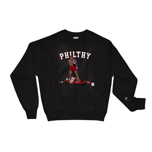 "Kawhi vs. Embiid ""PHILTHY"" - Champion Sweatshirt"