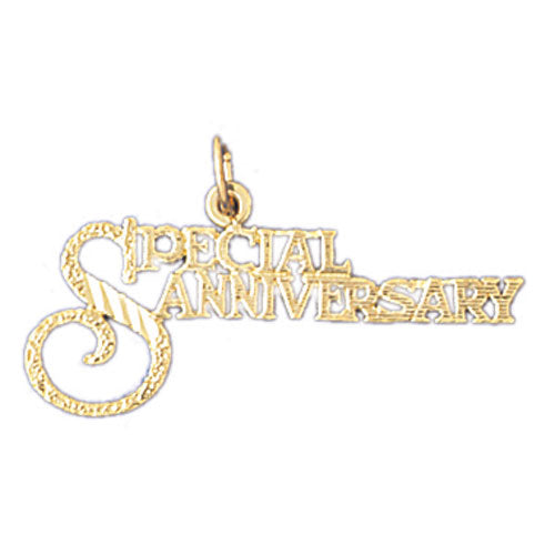 14k Yellow Gold Special Anniversary Charm
