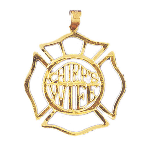 14k Yellow Gold Chief's Wife Charm