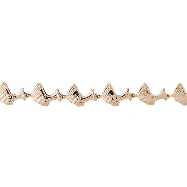14k Yellow Gold Egyptian Bracelet