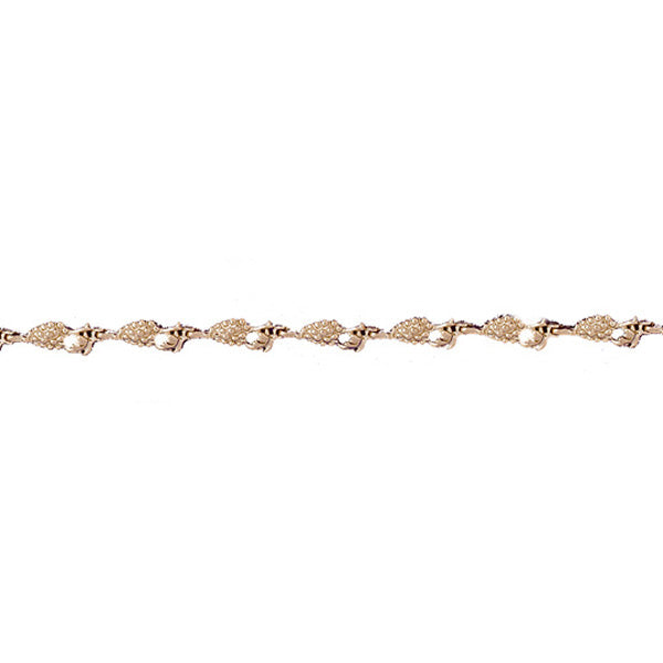 14k Yellow Gold Grapes Bracelet
