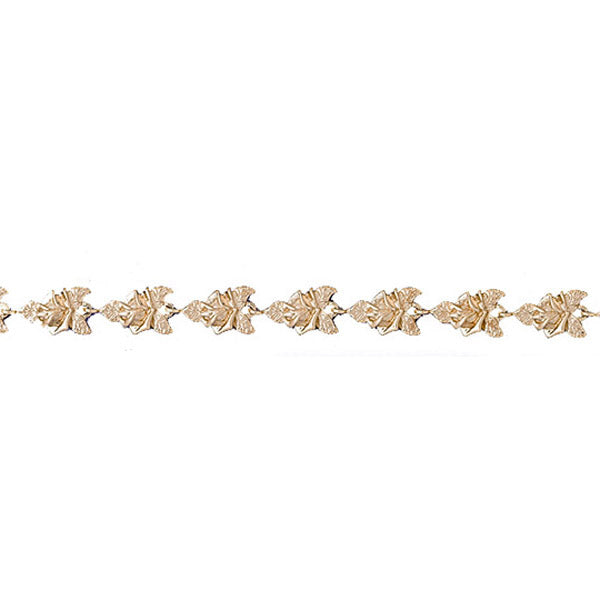 14k Yellow Gold Butterfly Bracelet