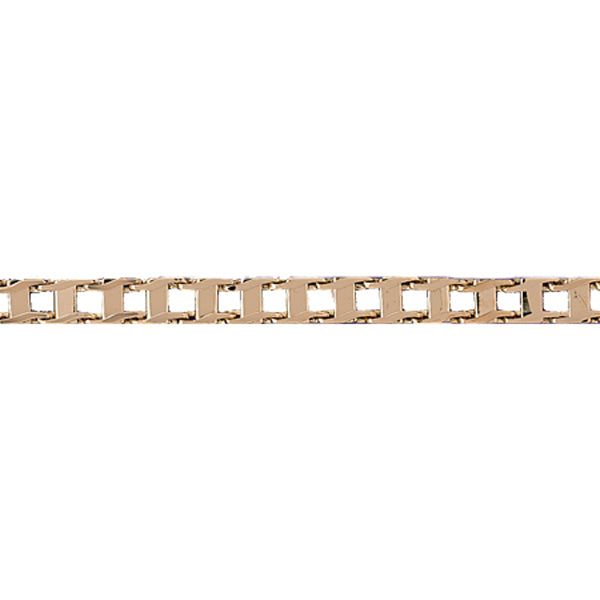 14k Yellow Gold Bicycle Chain Link Bracelet