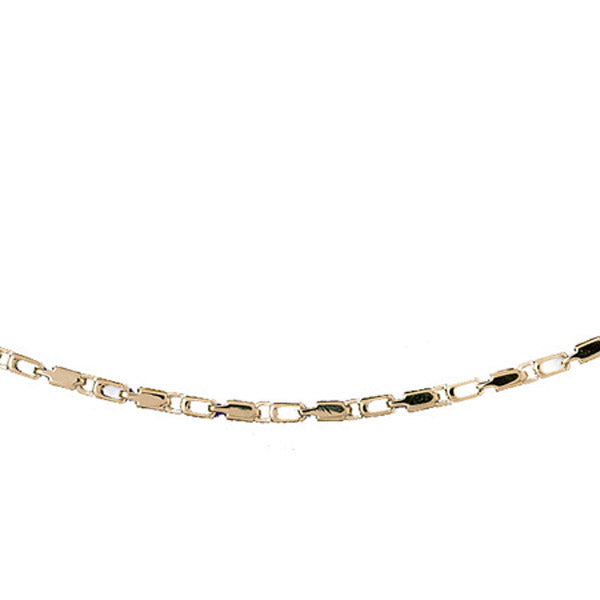 14k Yellow Gold Link Necklace