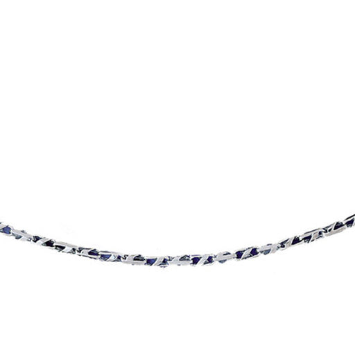 14k White Gold Link Necklace