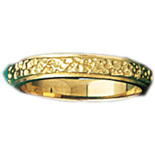 14k Yellow Gold Assorted Plain Band