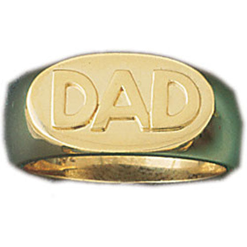 14k Yellow Gold Dad's Ring