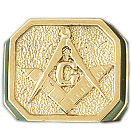 14k Yellow Gold Masonic Ring