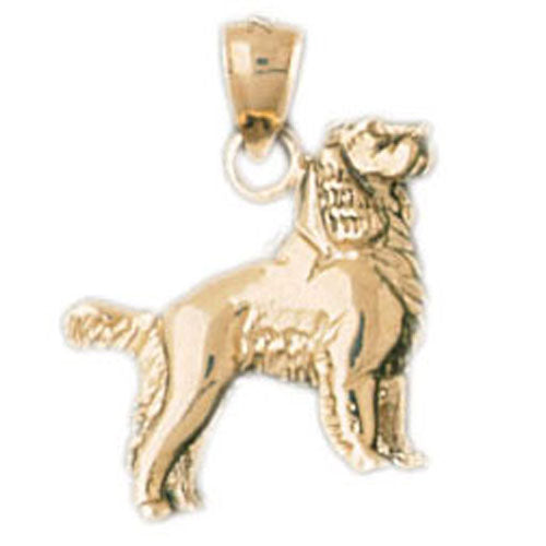 14k Yellow Gold English Cocker Spaniel Charm