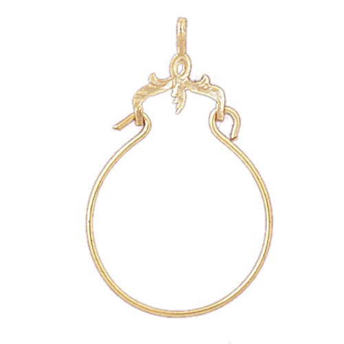 14k Yellow Gold Misc. Charm Holder Charm