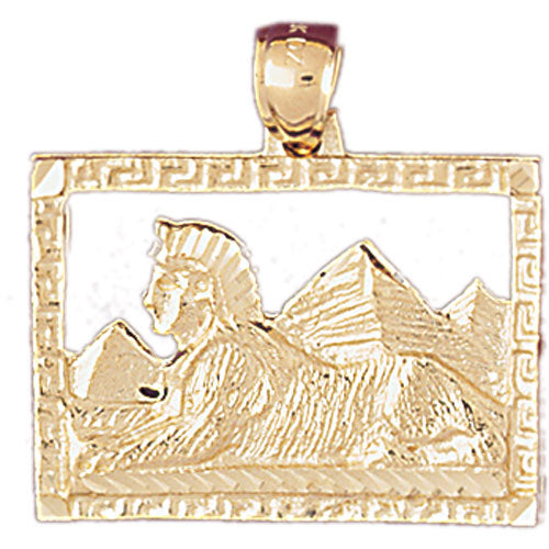 14k Yellow Gold Egyptian Charm