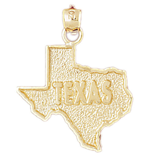 14k Yellow Gold Texas Charm