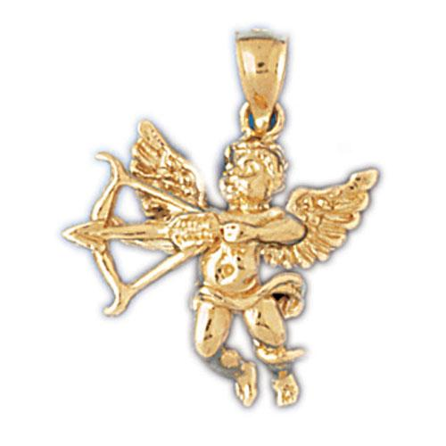 14k Yellow Gold Best Mom Charm