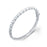 Sterling Silver Rhodium Plated and Enameled Bangle