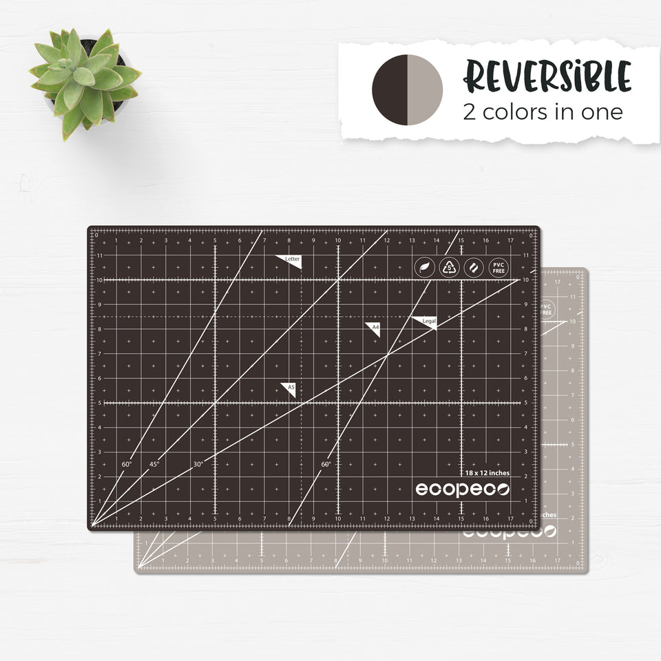 Brown Double Sided Cutting Mat