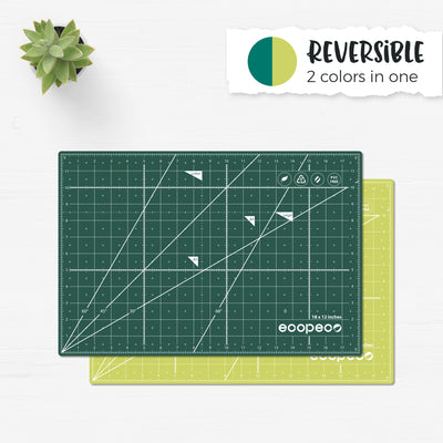 [Jade Green] ecopeco Self-Healing, Reversible Eco Cutting Mat