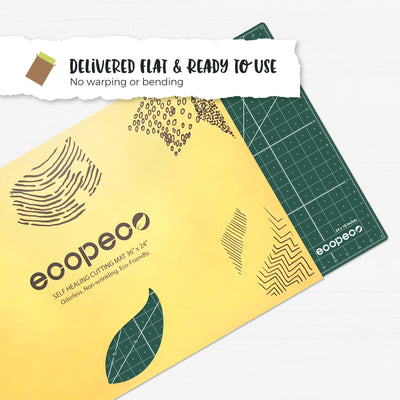 [Jade Green] ecopeco Self-Healing, Reversible Eco Cutting Mats