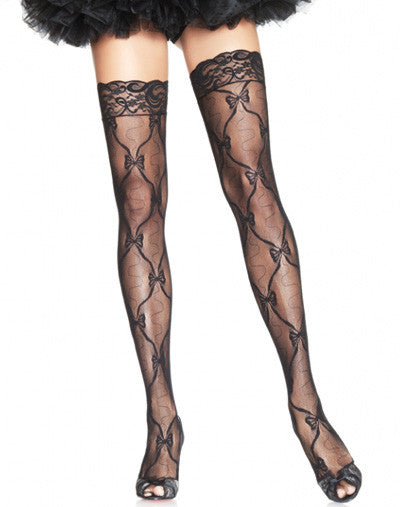 Bow Lace Stockings