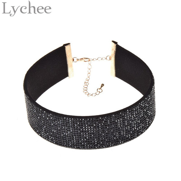 Black Crystal Chocker