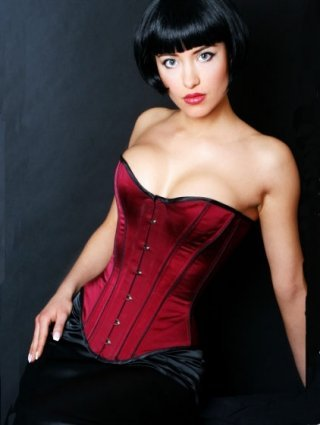 DarkRed Perfect Burlesque Corset