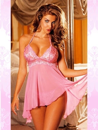 Pink/Blue/Purple Multi-fibre babydoll