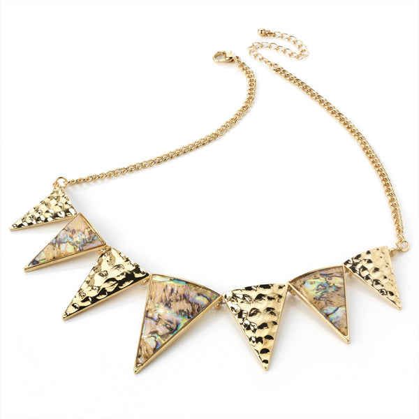 Shell Triangle Necklace