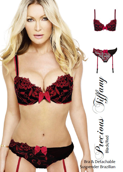 Precious Tiffany Black & Red