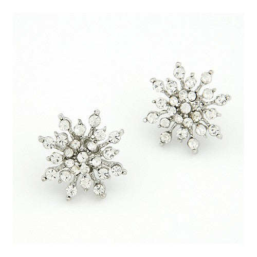 Snow Flake Earrings