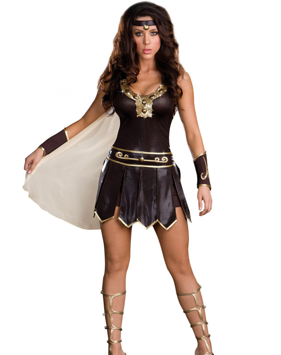 Babe-A-Lonian Warrior Woman Adult Costume Fancy Dress