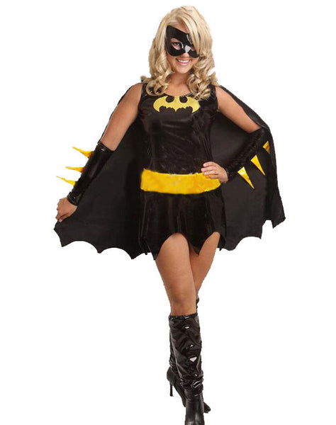 Batwoman Halloween Costume Fancy Dress