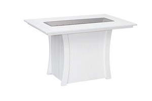 "Bay Shore Collection - Fire Table 40"" x 60"""