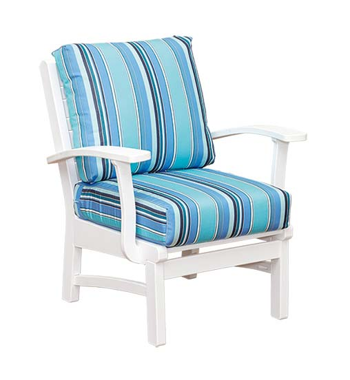 Bay Shore Collection - Club Chair with Natural Finishes