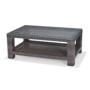 Bellanova - Rectangular Coffee Table w/ Glass