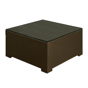 Cabo - Square Coffee Table w/ Glass
