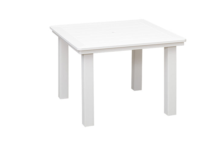 Marina Collection - Square Dining Table with Natural Finishes