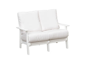 Marina Collection - Love Seat with Natural Finishes