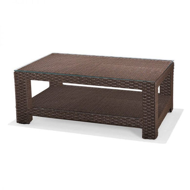 Cabo - Rectangular Coffee Table w/ Glass
