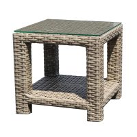 Grand Stafford - End Table w/ Glass