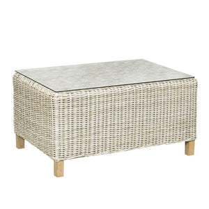 Cambria - Rectangular Coffee Table w/ Glass