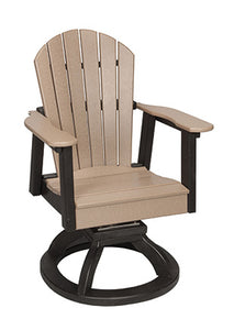 Oceanside Collection - Swivel Rocker Dining Chair