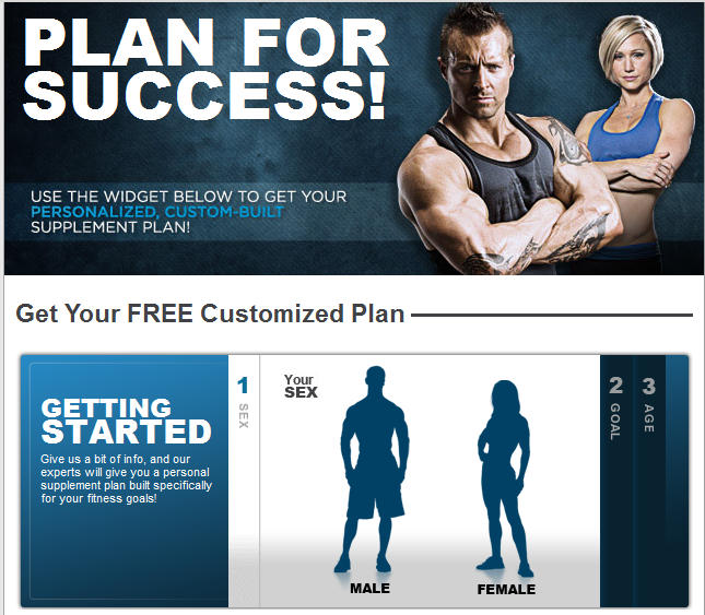 BodyBuilding.com-Free Customized Supplement Plan
