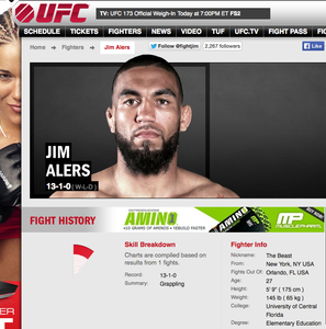 "Jim ""The Beast"" Alers Facebook Q&A Day- UFC Fight Night 45"